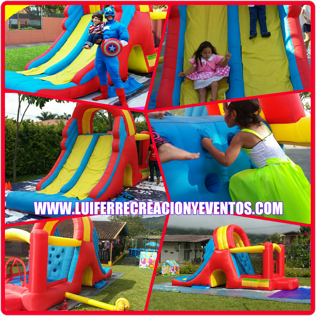 Inflable Escalador Rojo